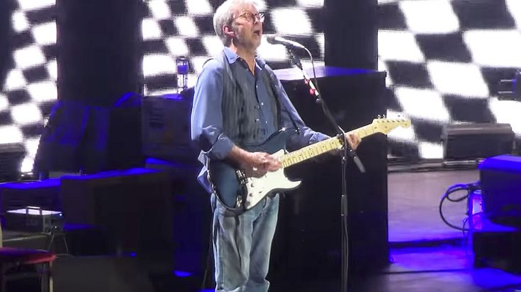 "Hidden Camera Films Eric Clapton's Latest Performance Of ""Sunshine Of Your Love"" And It Proves He's Still The Best! 