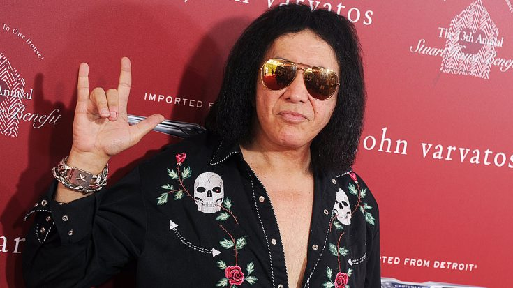 Gene Simmons Has Two Different Stories On How He Created His 'Signature' Devil-Horns Hand Gesture… | Society Of Rock Videos