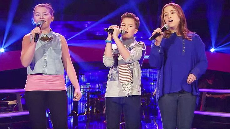 """Three Kids Harmonize """"Hallelujah"""" To Perfection And Leave Not One Dry Eye In The House! 