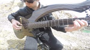 "Guitarist Uses Harp-Guitar To Put An Enchanting Twist on Metallica's ""Unforgiven"""