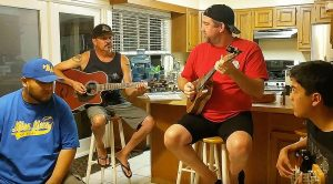 "Friends Band Together To Cover ""Hotel California"" And What They End Up With Is Stunning.."