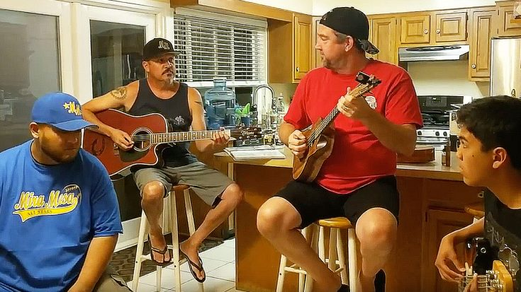 """Friends Band Together To Cover """"Hotel California"""" And What They End Up With Is Stunning.. 