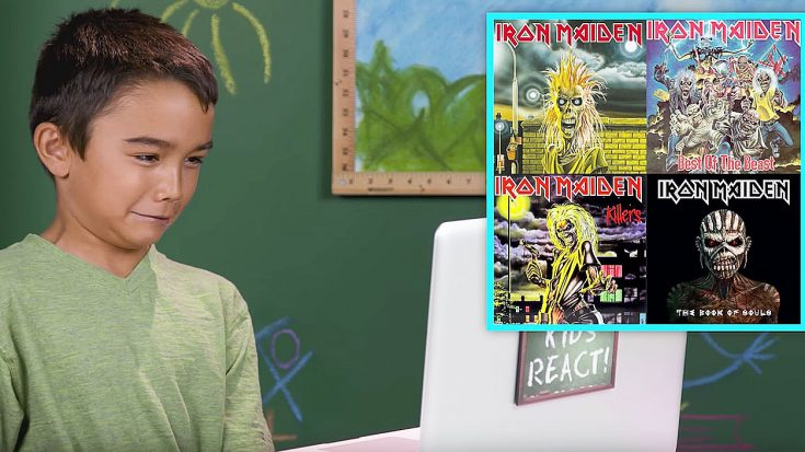Kids Hear Iron Maiden's Music For The First Time And Their Reactions Are Quite Hysterical | Society Of Rock Videos