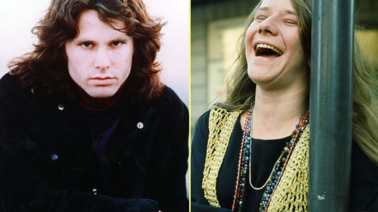 Ever Heard The Story Of The Time Janis Joplin Knocked Jim Morrison Out Cold? You're About To | Society Of Rock Videos
