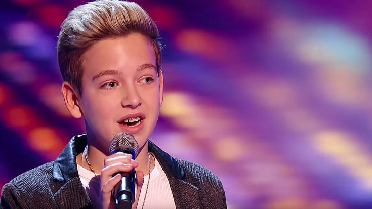 "Young Kid Sings ""Hallelujah"" And These Judges Cannot Believe The Voice They're Hearing 