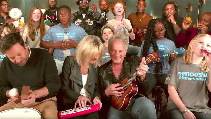 Lindsey Buckingham And Christine McVie's Epic 'Don't Stop' Jam With Kids Is Pure Joy To Watch | Society Of Rock Videos
