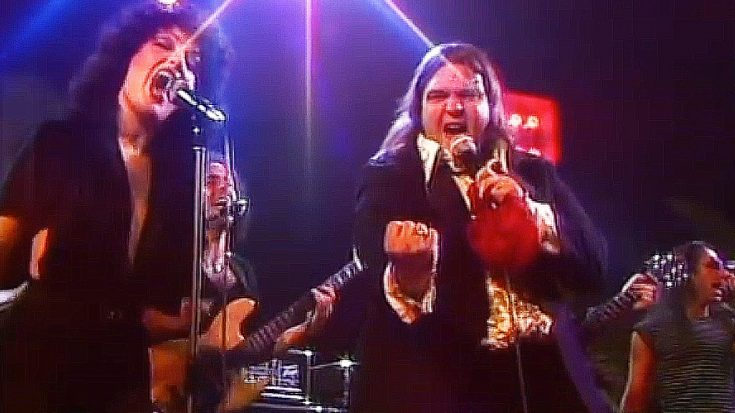"Desires Run Wild In Meat Loaf's Iconic ""You Took The Words Right Out Of My Mouth"" Performance 
