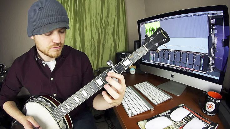 "Musician Tackles Iron Maiden's ""The Trooper"" On Banjo, And It's As Good As You'd Expect 
