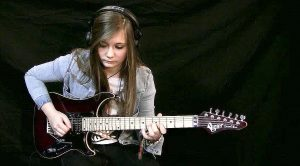 Teenage Girl Shreds Complex Metal Song To Absolute Perfection And We're All In Awe!