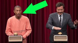 Pharrell Williams & Jimmy Fallon Play 'Name That Song', But Keep Your Eye On Him When They Hear Toto