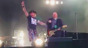 Billy Joel Surprises Fans & Invites Axl Rose On Stage For Fiery AC/DC 'Highway to Hell' Tribute!