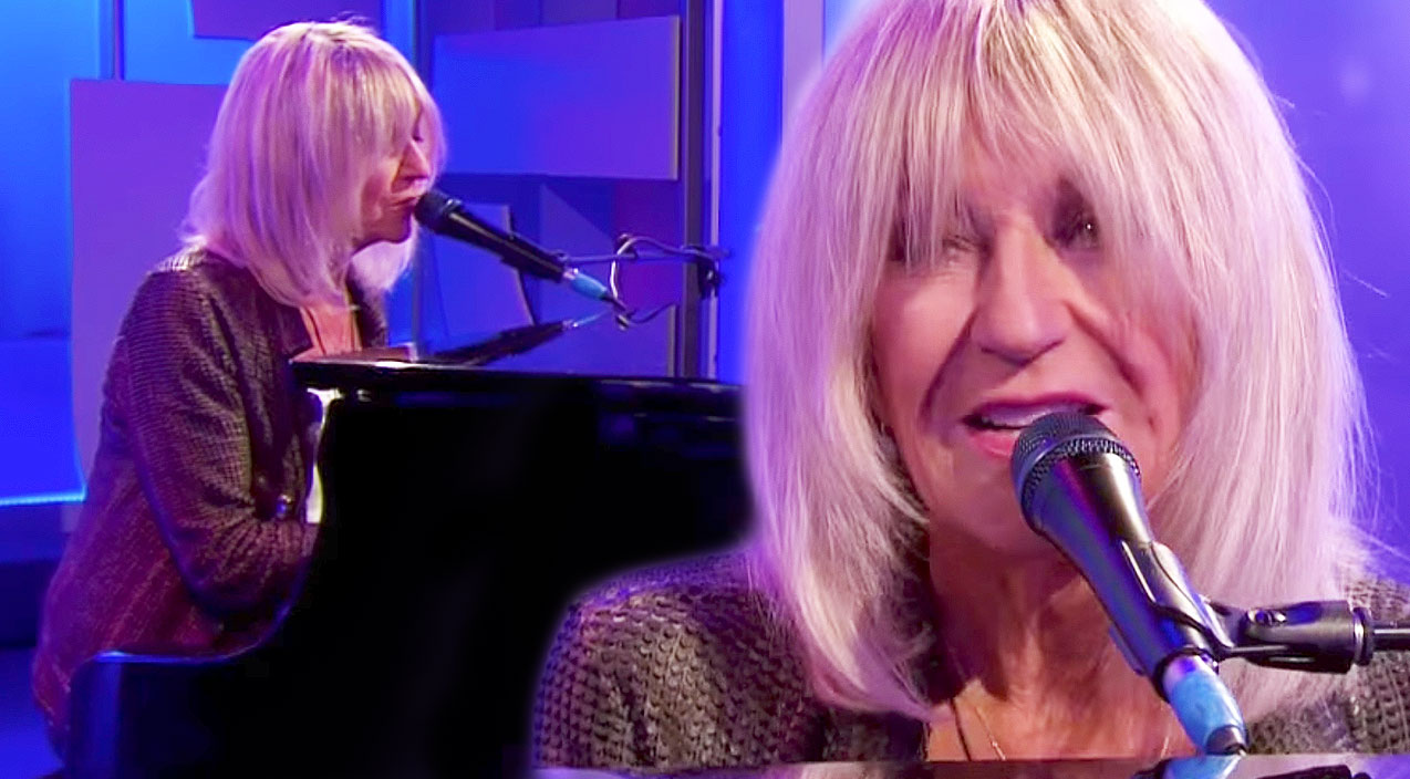 christine mcvie plays a breathtaking performance of songbird on bbc and we can t get enough. Black Bedroom Furniture Sets. Home Design Ideas