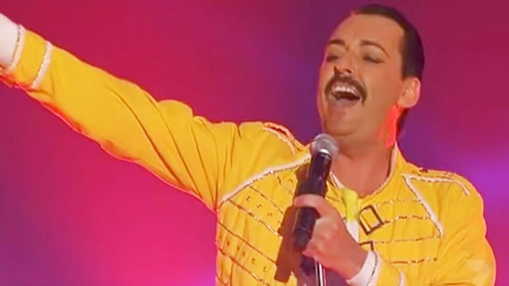 This Freddie Mercury Impersonator's Voice Will Blow You Away When Hear His Epic Cover of 'Radio Ga Ga!' | Society Of Rock Videos
