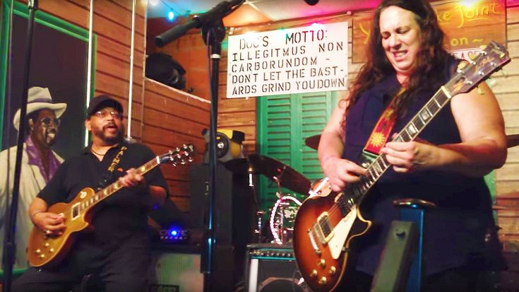 Woman Shreds Jaw-Dropping Solo of Jimi Hendrix's 'Little Wing,' And It's Bound To Leave You In Awe! | Society Of Rock Videos