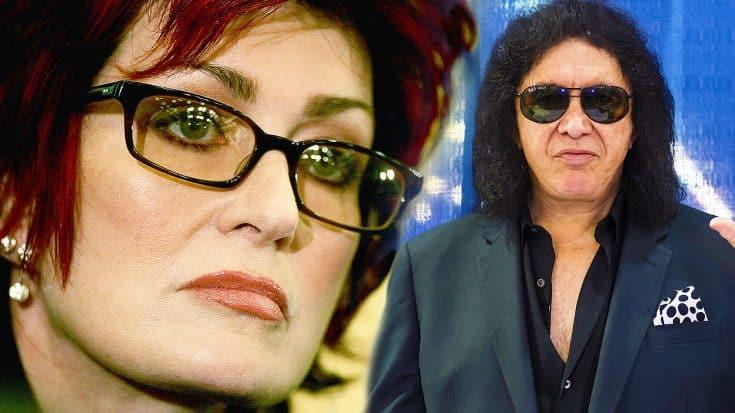 Sharon Osbourne Slams Gene Simmons On National TV For His Attempted Trademark On 'Horn' Gesture   Society Of Rock Videos