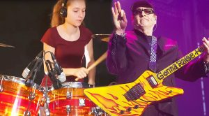 17 Year Old Sina Will Make Any Cheap Trick Fan Proud With Her Epic Drum Cover of 'I Want You To Want Me'