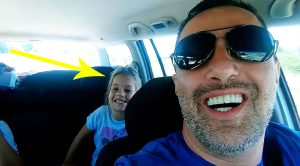 Keep Your Eye On This Little Girl When Her Father Puts AC/DC On The Radio