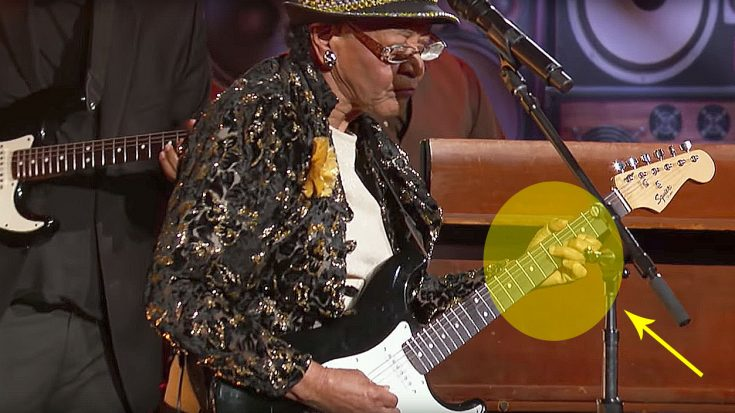 78-Year-Old Blues Granny Shreds Guitar On Live TV, But Keep An Eye On Her Hands | Society Of Rock Videos