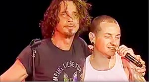 Chris Cornell & Chester Bennington Share The Stage For Emotional Performance of 'Hunger Strike'