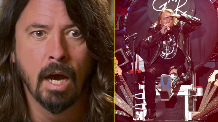 Dave Grohl Let Axl Rose Borrow His Throne, But Didn't Realize This Embarrassing Fact Until It Was Too Late | Society Of Rock Videos
