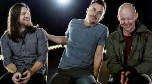 The Fray's Dave And Isaac Erupt Into Giggles When Asked This Question About Their Bandmate, Joe