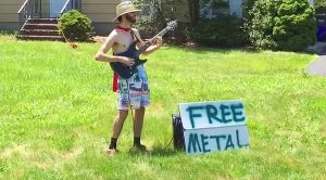 "Caped Crusader Offering ""Free Metal"" Is The Hero Gotham Needs"