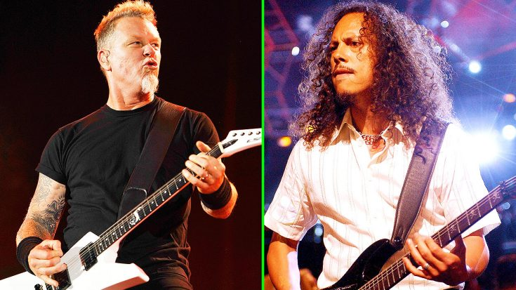 James Hetfield Publicly Calls Out Kirk Hammett, And Says His Most Recent Claim 'Makes No Sense'! | Society Of Rock Videos