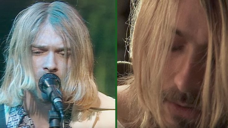 A-List Actor Dresses Up As Kurt Cobain And Performs An Amazing Tribute | Society Of Rock Videos
