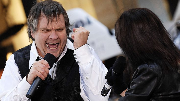 "Meat Loaf Crashes The Today Show And Dazzles With Performance Of ""Paradise By The Dashboard Light"" 