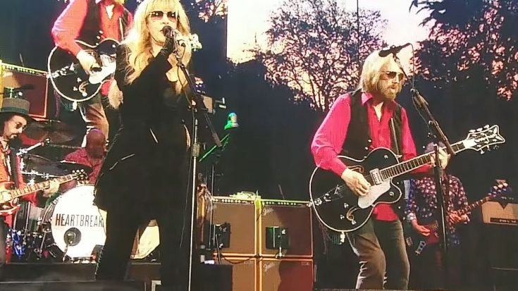"Surprise! Tom Petty And Stevie Nicks Reunite For Epic ""Stop Draggin' My Heart Around"" Duet 
