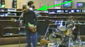 Rare Footage Of Nirvana Playing In A RadioShack In 1988 Has Just Surfaced And It's Golden