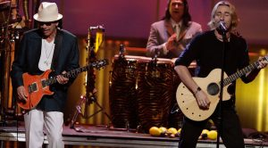 Santana Once Teamed Up With Nickelback's Chad Kroeger…And We Really, Really Liked It