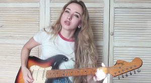 "Girl Films Herself Playing SRV's ""Scuttle Buttin"" And Our Jaws Immediately Dropped"