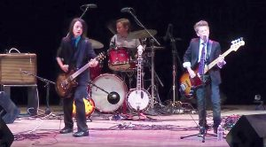 7th Grade Rockers Energize Charity Show With Their Perfect Cover Of Led Zeppelin's 'Rock & Roll'!