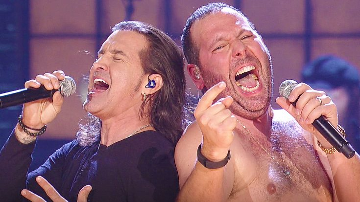 Creed's Scott Stapp Joins Hilarious Comedian On Stage To Treat Audience to Surprise Duet of 'Higher'!