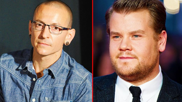 James Corden Releases Statement Regarding Plans For Carpool Karaoke Episode Featuring Chester Bennington | Society Of Rock Videos