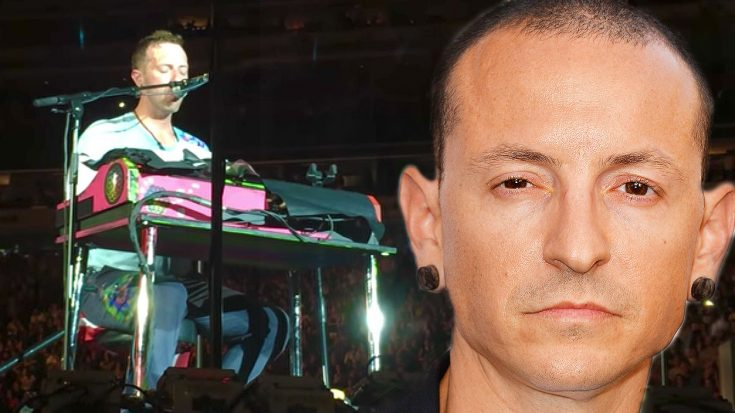 Chris Martin Pays Chilling Tribute To Chester Bennington