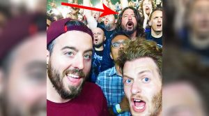 Camera Catches Dave Grohl Rocking Out With Fans In A Moshpit At Metallica's Most Recent Gig!