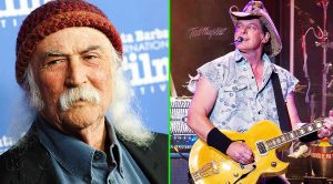 Oh Boy… David Crosby Fires Harsh Comments At Ted Nugent After His Recent Rock Hall Complaint