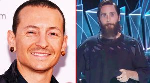 Emotions Run High As Jared Leto & MTV Pay Tribute To Chester Bennington During The VMA's