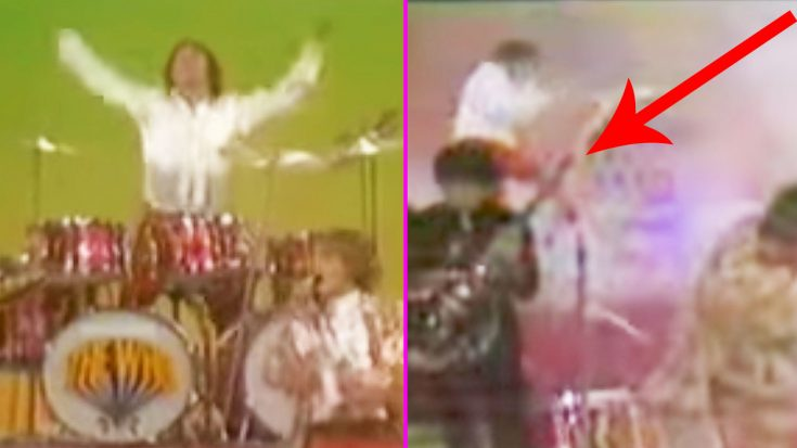 Remembering The Iconic Moment Where Keith Moon's Explosive Drum Solo Turned Into An Actual Explosion! | Society Of Rock Videos