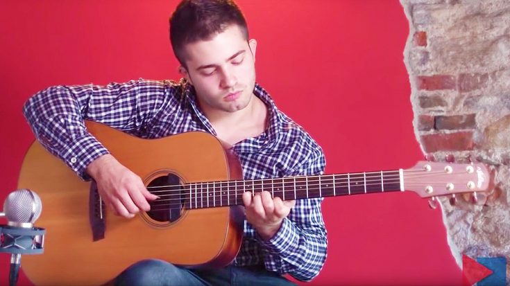 Man Covers This 80's Classic Hit On Acoustic Guitar, And The Result Will Blow You Away! | Society Of Rock Videos