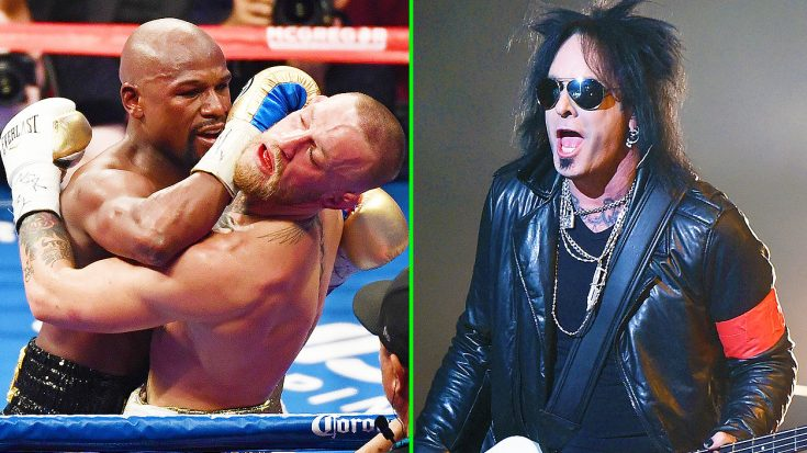 Floyd Mayweather Defeats Conor McGregor In Historic Boxing Match—Rockers, Celebrities & Others React! | Society Of Rock Videos