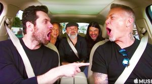 Watch As Metallica & Billy Eichner Hilariously Belt Out This Tune From 'The Little Mermaid' on Carpool Karaoke!