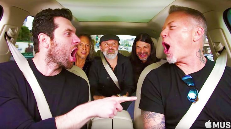 Watch As Metallica & Billy Eichner Hilariously Belt Out This Tune From 'The Little Mermaid' on Carpool Karaoke! | Society Of Rock Videos