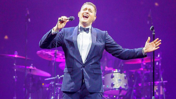 Michael Bublé Does 'The King's' Voice Justice In Magnificent Cover of This Classic Elvis Hit! | Society Of Rock Videos
