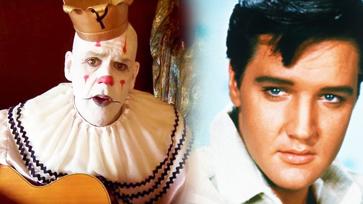 Puddles Pity Party Honors 'The King of Rock & Roll' With This Beautiful, Haunting Cover of This Elvis Classic! | Society Of Rock Videos