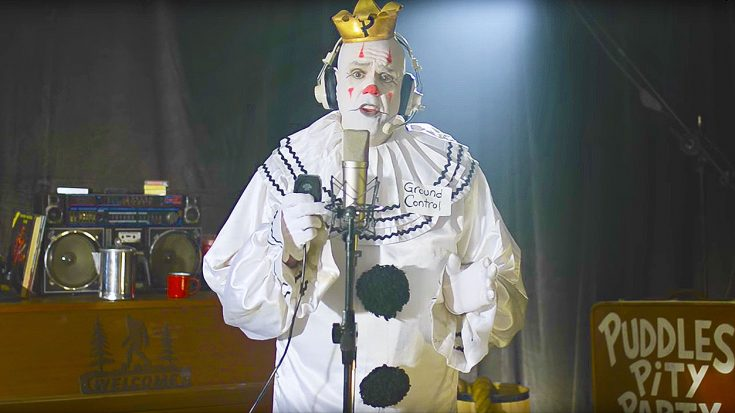 Sad Clown Tackles David Bowie's 'Space Oddity,' & The Result Will Completely Blow You Away! | Society Of Rock Videos