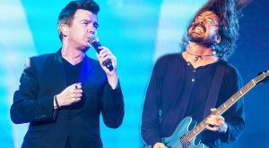 Rick Astley & The Foo Fighters' Unlikely Duet Turns Into The Greatest 'Rick Roll' of All Time!
