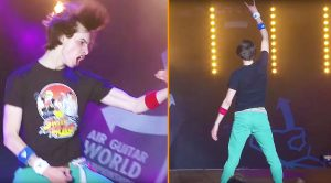 The 'World Air Guitar Championships' Are An Actual Thing, And Yes…It's Hilariously Ridiculous